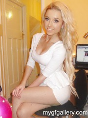 Facebook blonde whore