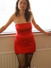 Brunette milf Sabrina