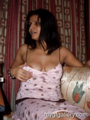 Dirty indian girl drinking and exposing