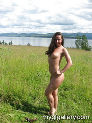 Sexy brunette girl