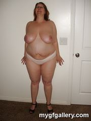 BBW Jackie topless and panties