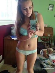 College girl Iris