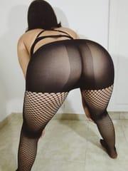 Hot ass in pantyhose
