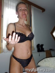 Blonde mature wife