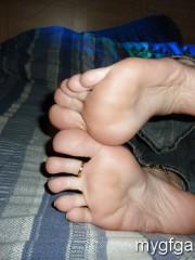 Sexy pretty feet