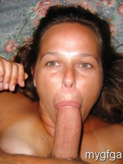 Nice Canadian girl blows and gets facial