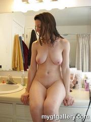 Sexy brunette Maria