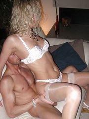 Blonde fuck session