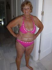 Blonde granny you love