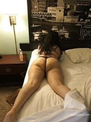 My wife with chubby ass