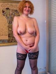 Nice redhead lady