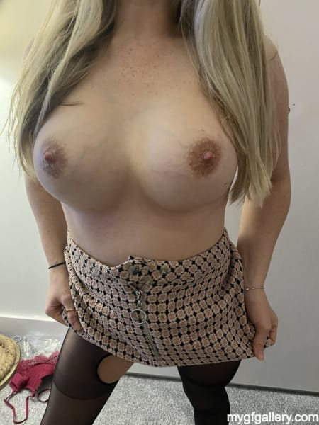 Hot British wife in lingerie6